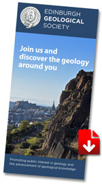 Join Edinburgh Geological Society - Membership Leaflet Download PDF
