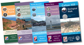 Lothian and Borders GeoConservation - Leaflets Group Image