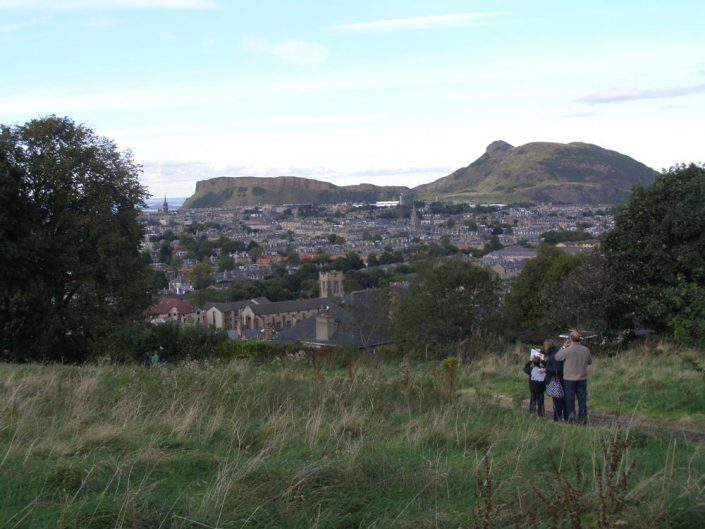 Arthur's Seat from Blackford Hill