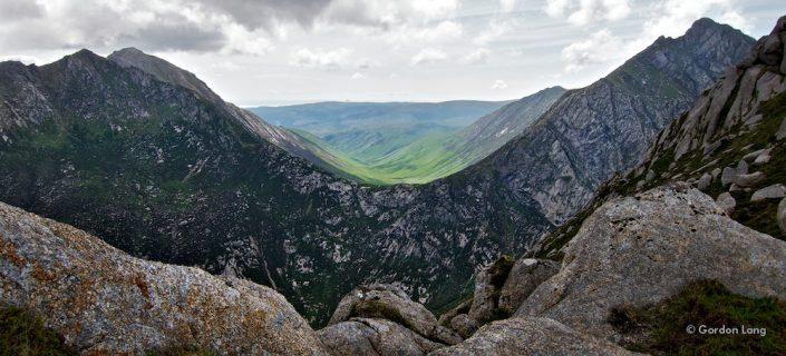 Isle of Arran: Towards Glen Rosa