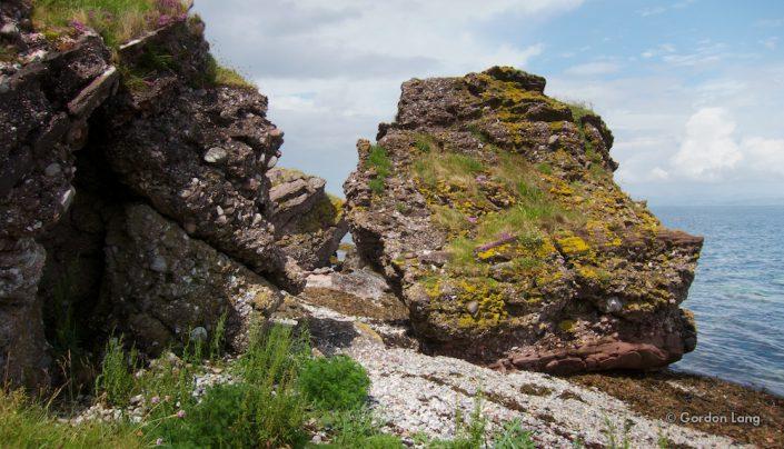 Isle of Arran: Fallen Rocks