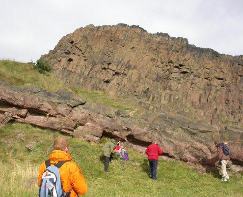 Salisbury Crag, Edinburgh