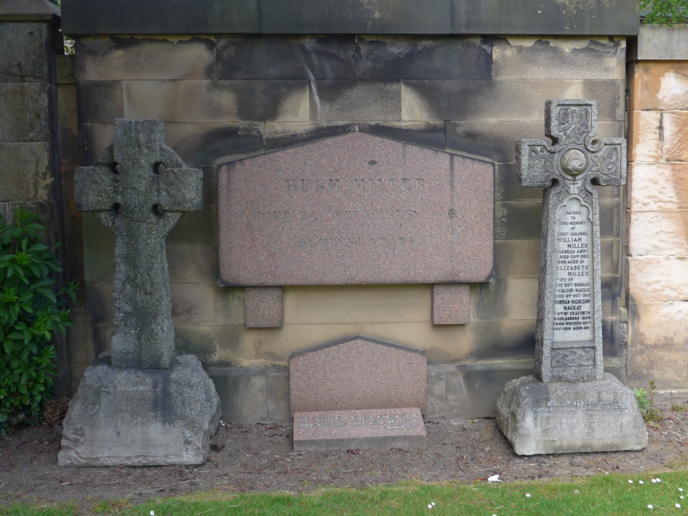 Miller Memorials - before