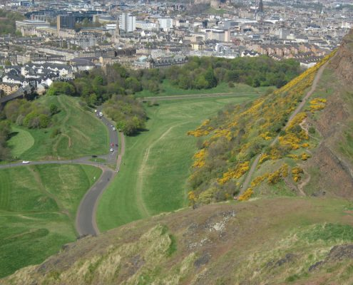 Holyrood Park, Edinburgh. Photo: Angus Miller