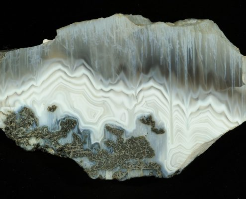Agate from the National Museums Collection Centre. © National Museums Scotland