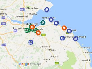 EGS Excursion Programme map