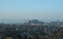 View of Edinburgh Castle (from Blackford Hill)