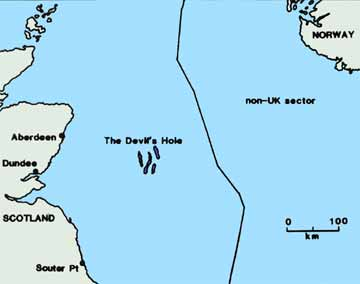 location map of the Devil's Hole