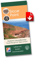Hutton's Unconformity, Siccar Point - Leaflet Download