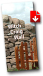 Leaflet - Witch Craig Wall