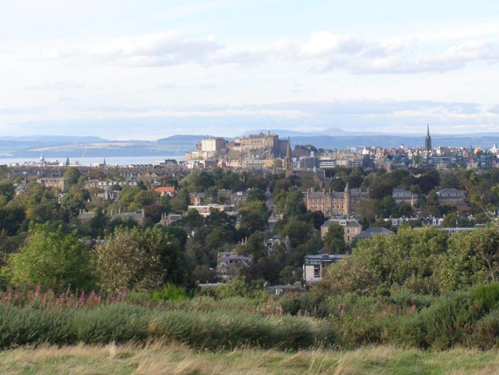 Castle Hill from Blackford Hill