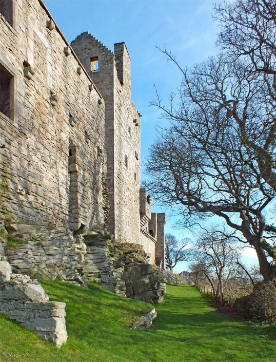 Craigmillar Castle - Copyright Howard Turner