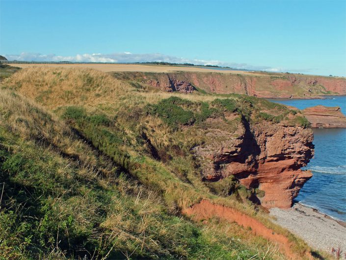 Maiden Castle, Arbroath - Copyright Howard Turner