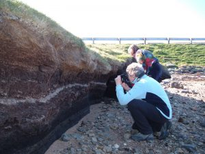 EGS members on Shetland