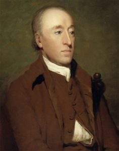 James Hutton by Sir Henry Raeburn, on display in the Scottish National Portrait Gallery