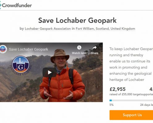 Lochaber Geopark Crowd funder